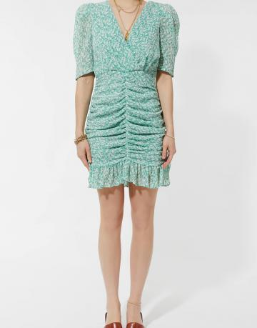 Tulip pleated dress